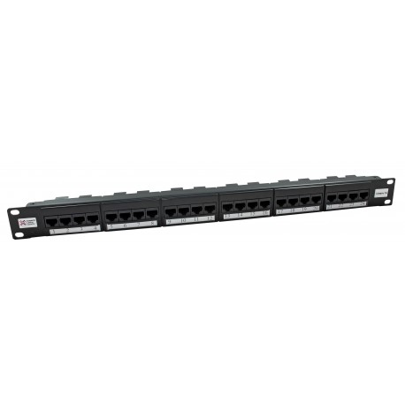 24 Port Cat5e UTP CCS Elite Patch Panel