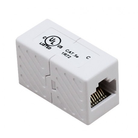 Cat5e UTP RJ45 Through Coupler
