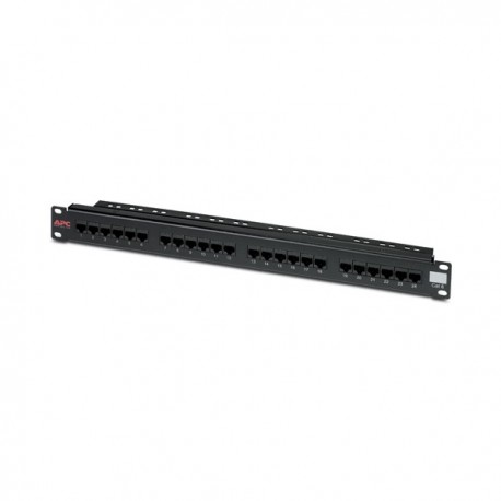 APC 24 Port Cat6 UTP RJ45 Patch Panel
