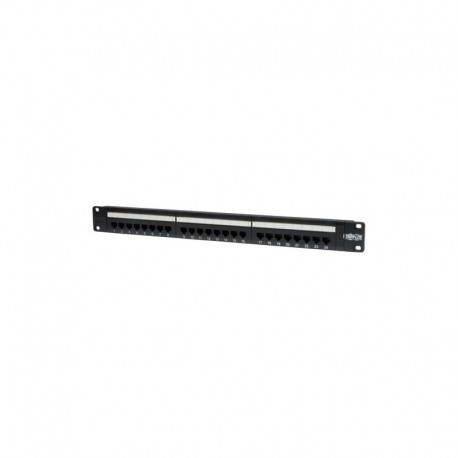 24-Port 1U Rack-Mount Cat5e 110 Patch Panel, 568B, RJ45 Ethernet