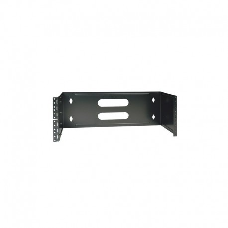 4U Hinged Wall-Mount Patch Panel Bracket