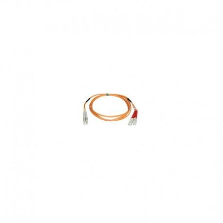 Multimode Fiber Optics 25-m (80-ft.) Duplex MMF 62.5/125 Patch Cable, LC/SC