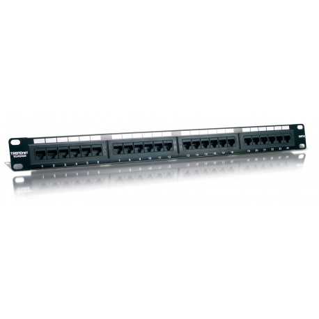 Trendnet 24 Port Cat6 UTP RJ45 Patch Panel