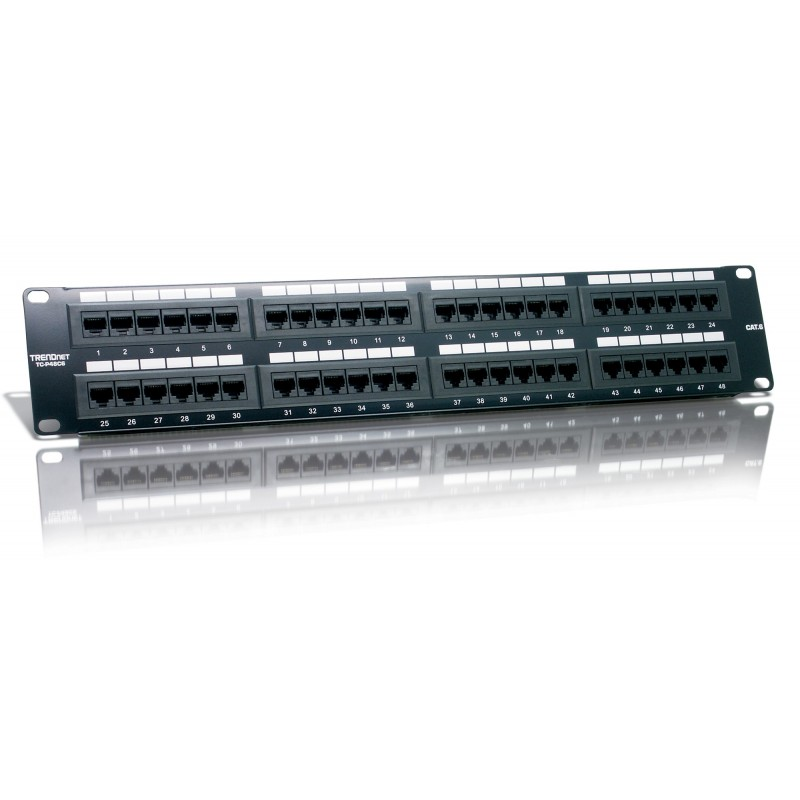 Trendnet 48 Port Cat6 UTP RJ45 Patch Panel
