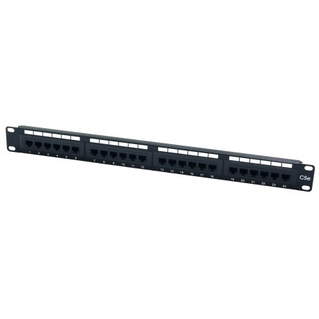 24 Port Value Cat5e UTP Patch Panel