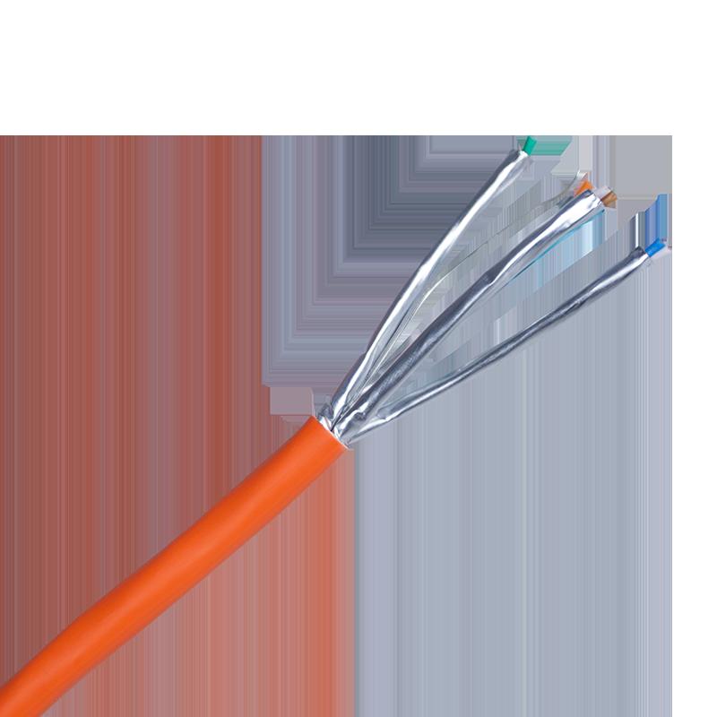 Cat6a U/FTP LSZH B2ca Solid Cable