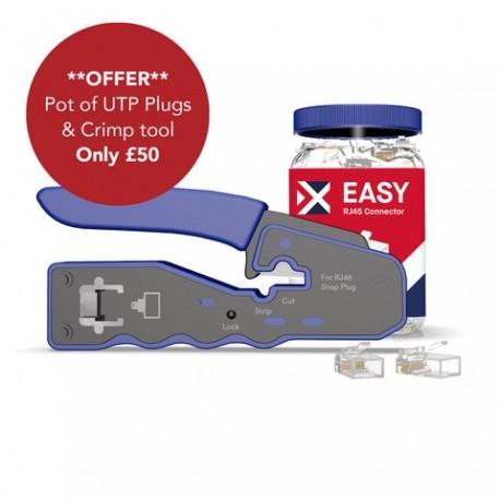 Cat6 UTP 5 Pots