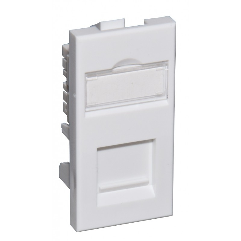 Cat5e UTP RJ45 Modules - Euromod Size